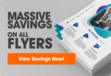 Massive flyer savings
